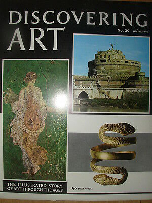 DISCOVERING ART MAGAZINE 1964 No 20 ROMAN ART AND PAINTINGS