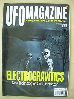 Ufo Magazine - The Truth Is Coming - September / October 2000