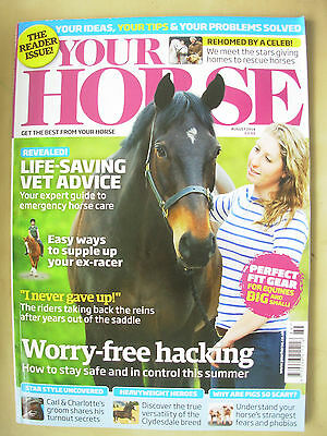 Your Horse Magazine August 2014