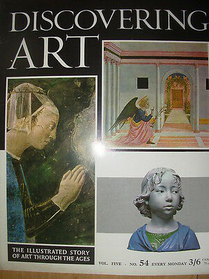 DISCOVERING ART MAGAZINE 1964 No 54 FLORENCE ARTISTS