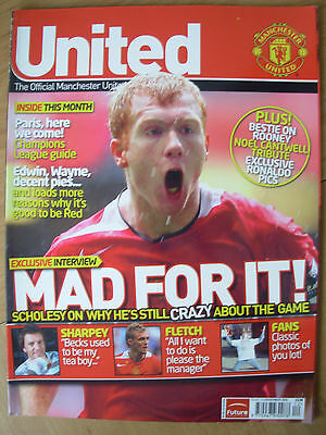 Manchester United Official Magazine Issue 160 November 2005
