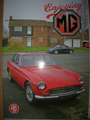 Enjoying Mg Owners Club Magazine May 2007