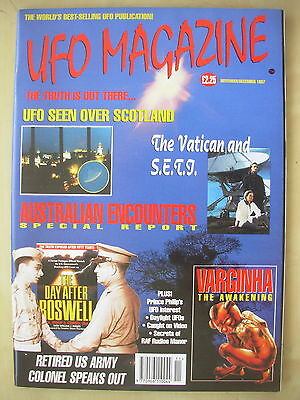 Ufo Magazine - The Truth Is Out There - November / December 1997