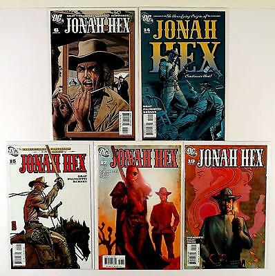 Jonah Hex Dc 2006 Lot Of 5 Comics #6 14 15 17 19 (Vf/nm)