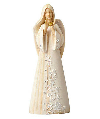 Foundations by Karen Hahn - Angel with Butterfly - Enesco 4055278