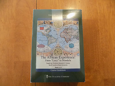 Great Courses- DVDs & Books- The African Experience: From Lucy to Mandela