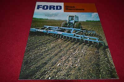 Ford Tractor Disc Harrows For 1972 Dealer's Brochure YABE12