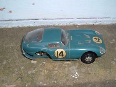 Vintage 1/32 Cobra Coupe Gt Slot Car Needs Repairing A Crack In The Body