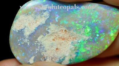 AUSTRALIAN LIGHTNING RIDGE Crystal OPALS SOLID POLISHED ROUGH SPECIMEN 18.95 ...
