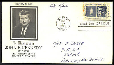 1964 Usa - In Memoriam John F Kennedy 1917 - 1963 - Fdi - Cover - J55