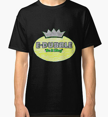 E-Dubble Be A King Men's Black Tees Tshirt S - 3XL