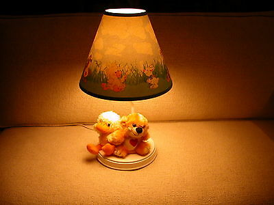 Suzy's Zoo (Suzy Spafford) Baby Nursery Table Lamp - Witzy, Lulla, Boof, Patches