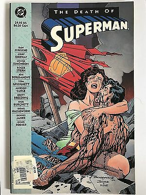The Death of Superman by Titan Books Ltd (Paperback, 1992)