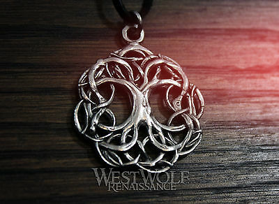Tree of Life Pendant - Yggdrasil - Viking/Celtic/Norse/Nature/Pagan/Silver/Magic
