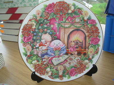 Royal Doulton Christmas Plate 1996 The Night Before Christmas Humpty Dumpty Toys