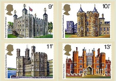 Gb Postcards Phq Cards Mint No. 28 1978 British Architecture 10% Off 5+