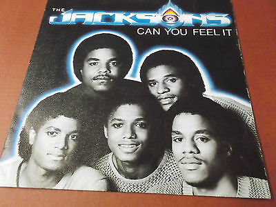 "The Jacksons: Can You Feel It: 7"" Vinyl Single Made In Spain: Michael Jackson"