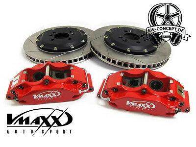 V-Maxx Big Brake Kit 330mm VW Golf II 2 19E ab 62KW Bremse Sportbremse 4 Kolben