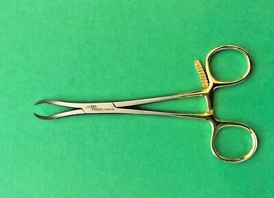 "4 x Bone Reduction Holding Forceps 5"" Curved Orthopedic Veterinary Instruments"
