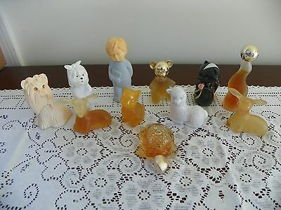 Vintagelot Of  Avon Collectible Bottles For Young Adult Animal Figures, Puppy