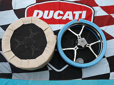 "Ducati Performance Monster 1200 Satz Scalloped Felgen 3,5""x17"" 6""x17"" RIM **NEU*"