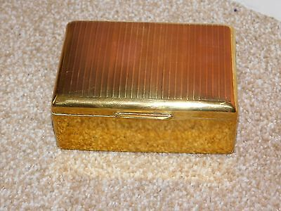 State Express Cigarettes Brass Cigarette Box  Ideal For Jewellery & Treasures
