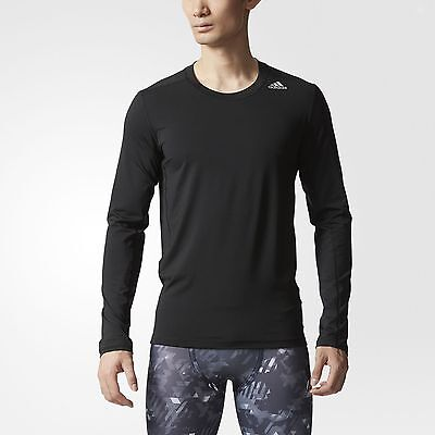 adidas Techfit Fitted Tee Men's Black