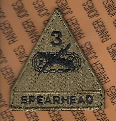 US Army 3rd Armored Division SPEARHEAD OCP Hook-n-Loop patch m/e