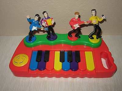 The Wiggles Musical Singing Toy Piano Murray Jeff Anthony Greg Spin Master 2004
