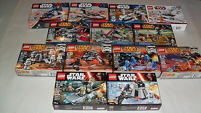 Choice LEGO NEW Boxed Star Wars Sets 7667 7668 8083 7913 75034 75035 75036 75078