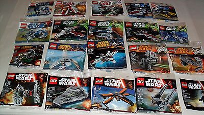 Choice LEGO NEW Star Wars Polybags 30050 30051 30242 30244 30246 30057 30278 +++