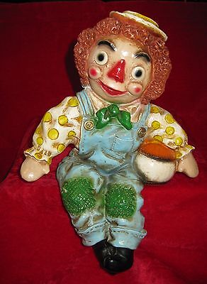 Raggedy Andy Shelf Sitter Statue 1969 Figure Universal Statuary Chicago ann