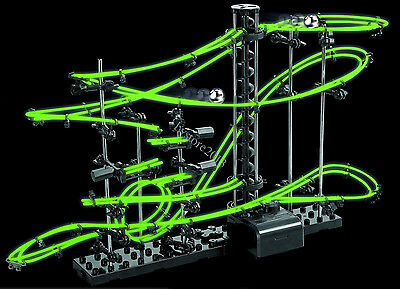 New Space 10m Rail Race Track Marble RunToy Game Gift Glow In The Dark