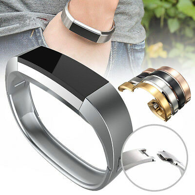Replacement Stainless Steel Watch Band Strap Bracelet For Fitbit Alta HR Tracker