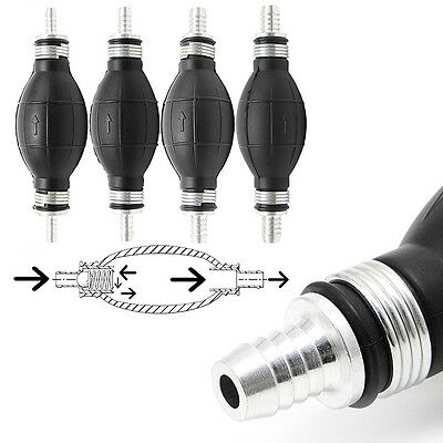 New Fuel Line Pump Primer Bulb Hand Primer Gas Petrol Pumps Rubber And Aluminum
