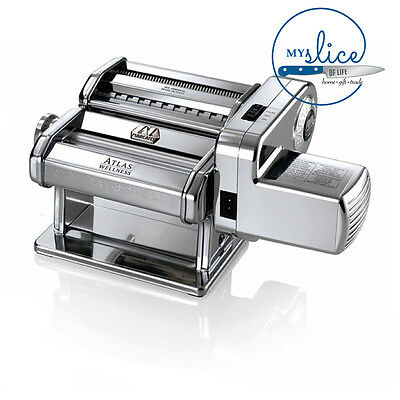 Marcato Atlas 150 Pasta Machine With  Pastadrive Electric Motor - ITALIAN MADE