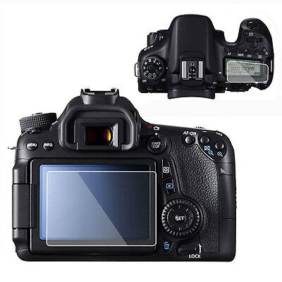 Camera LCD Screen Protector HD Clear Film Guard Cover For Canon EOS 70D 80D