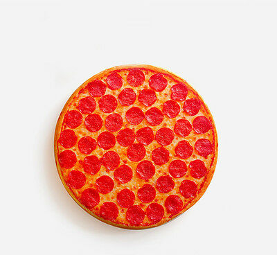 Home Decor Pizza Cushion Pillow Creative Pillow Simulated Food Cushion Pillow
