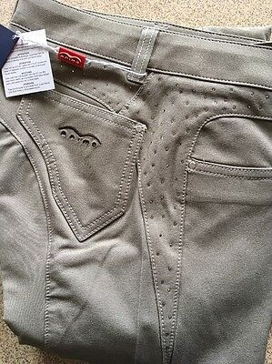 Animo Nadu Breeches With Swarovski Crystal beige I40 uk10  brand new