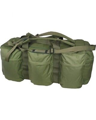 100 Litre Assault Holdall Cadet 100L Deployment Bag Rucksack British Army Green
