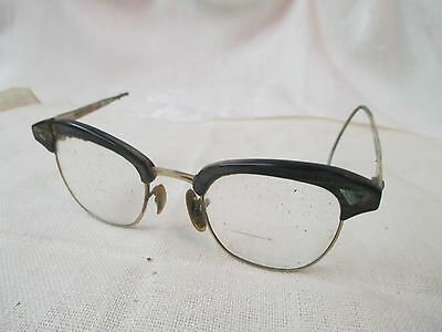 Vintage American Optical 1/10 12K gold Eyeglasses Catseye parts repair