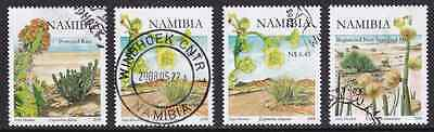 NAMIBIA - 2008 - Euphorbia's of Namibia. Complete set, 4v. First day stamp