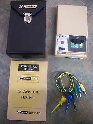 B&K Precision 510 Transistor Tester Checker -  In good used condition