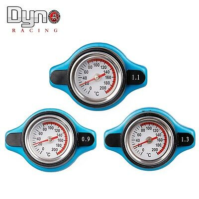 Temperature Gauge with  Utility safe 0.9 and 1.1 and 1.3 bar Thermo Radiator Cap