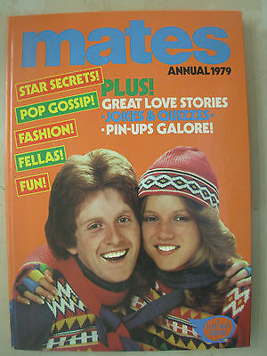 Mates Annual 1979 Fashion Fellas Fun Very Good Condition Not Price Clipped