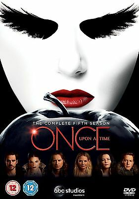 Once Upon a Time Season 5 COMPLETE [DVD] Region 2 - Brand New - Quick dispatch