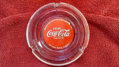 Coca-Cola ashtray-Root Associated Bottling Daytona Beach, Florida NOS - HTF!