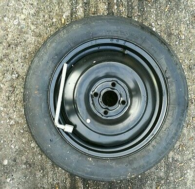 """Honda Insight 2009-2018 Space Saver 15"""" Spare Wheel & Tyre Free Delivery"""