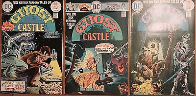Tales of Ghost Castle Lot – 1, 2, 3; complete series