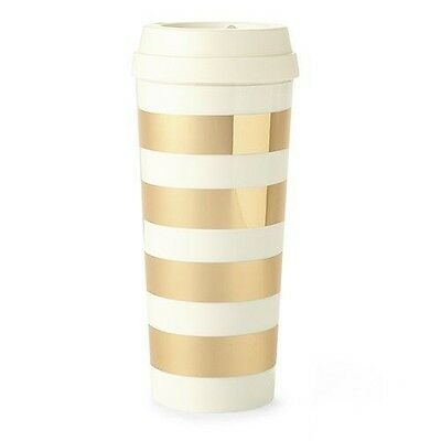 kate spade new york Thermal Mug, Gold Stripe